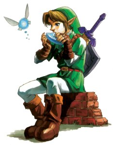 Ocarina-of-Time-Link